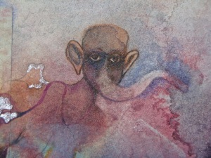 MGlikson_Elephantself_from Dear Safia_video, watercolour, paper_2013